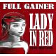 full gainer lady in red
