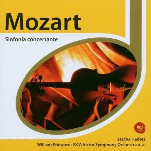 jascha heifetz - esprit/sinfonia concertante (rca red s.)