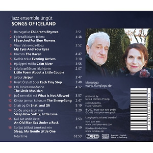 jazz ensemble ung£t - songs of iceland