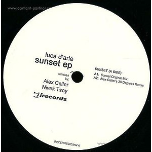 luca d'arle - sunset ep (i records)