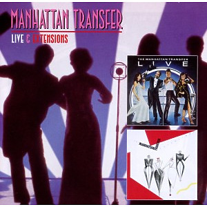 manhattan transfer - live+extensions (demon / edsel)