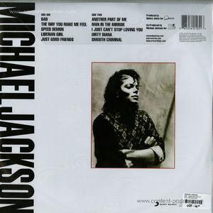 michael jackson - Bad - 25th Anniversary (Picture) LP (epic)