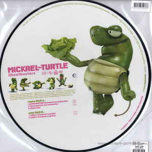 mickael turtle - ghostbusters (repress)