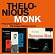 monk,thelonious trio plays duke ellington+the unique thelonio