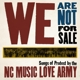 nc music love army we are not for sale