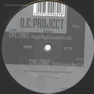 o.c.project - close your eyes 2002 (back in)