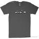 t-shirt, size l ctrl-esc-remix, graphit