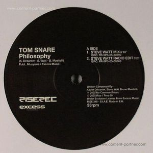 tom snare - philosophy (re-issue) (rise)