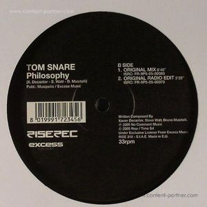 tom snare - philosophy (re-issue)