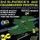 various 3rd st.patrick's day celebration festiva
