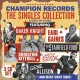 "various champion records""the singles collection"""