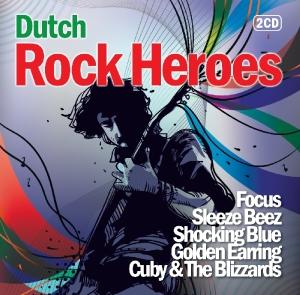 various - dutch rock heroes (red bullet)