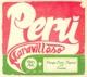 various peru maravilloso: vintage lati