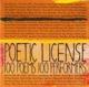 various poetic license