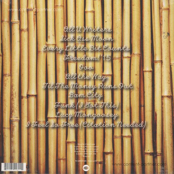!!! (Chk Chk Chk) - As If (2LP+MP3) (Back)