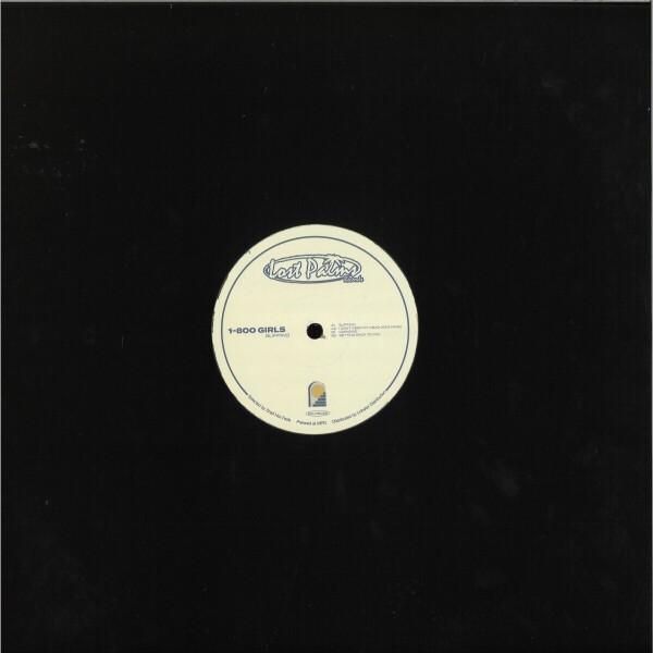 1-800 Girls - Slipping EP (Back)