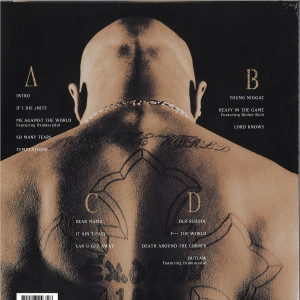 2Pac - Me Against the World (25th Anniv. Edition 2LP) (Back)