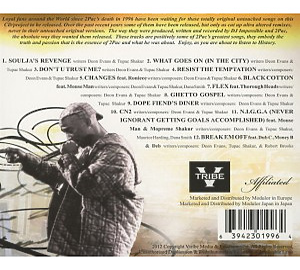 2pac - ghetto gospel (Back)