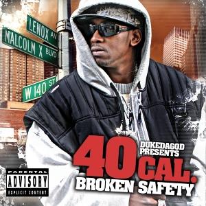 40 cal - broken safety-hits