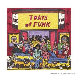 7 Days Of Funk (Snoop Dogg & Dam Funk) - 7 Days Of Funk (8x7