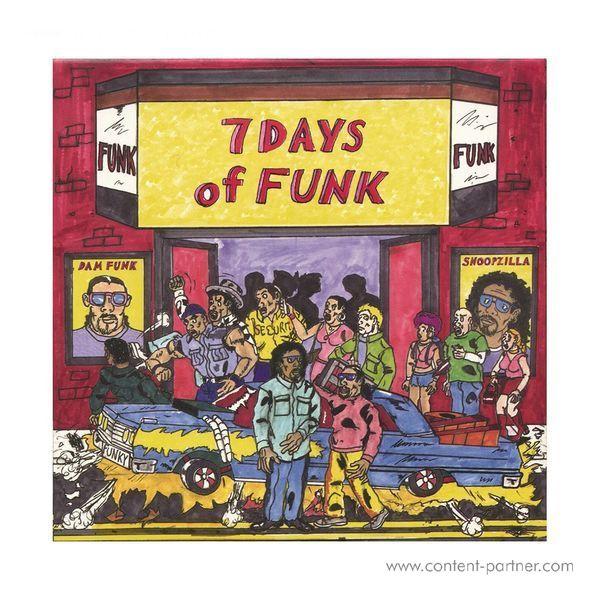 7 Days Of Funk (Snoop Dogg & Dam Funk) - 7 Days Of Funk (8x7