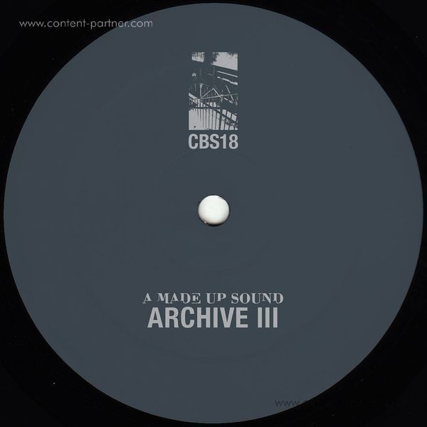 A Made Up Sound - Archive III (Back)
