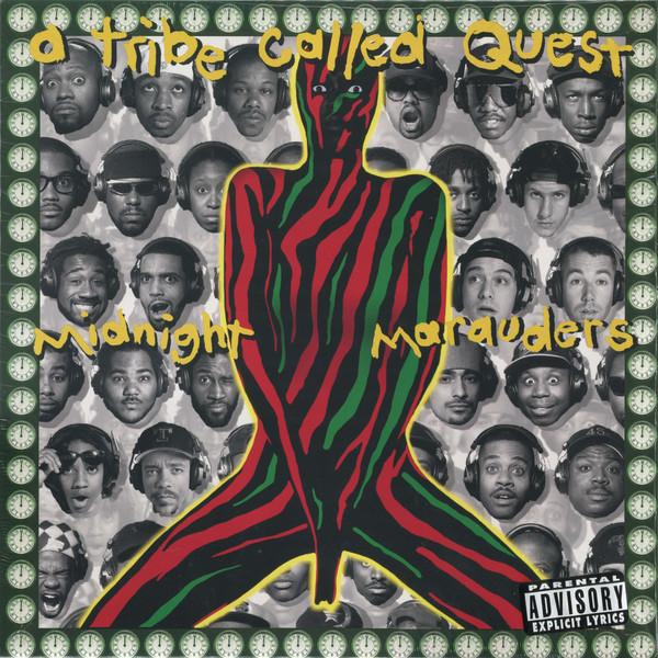 A Tribe Called Quest - Midnight Marauders (Black Vinyl Reissue)