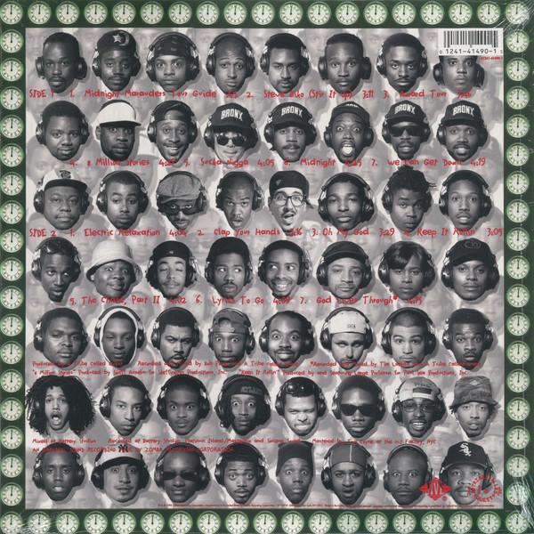 A Tribe Called Quest - Midnight Marauders (Black Vinyl Reissue) (Back)