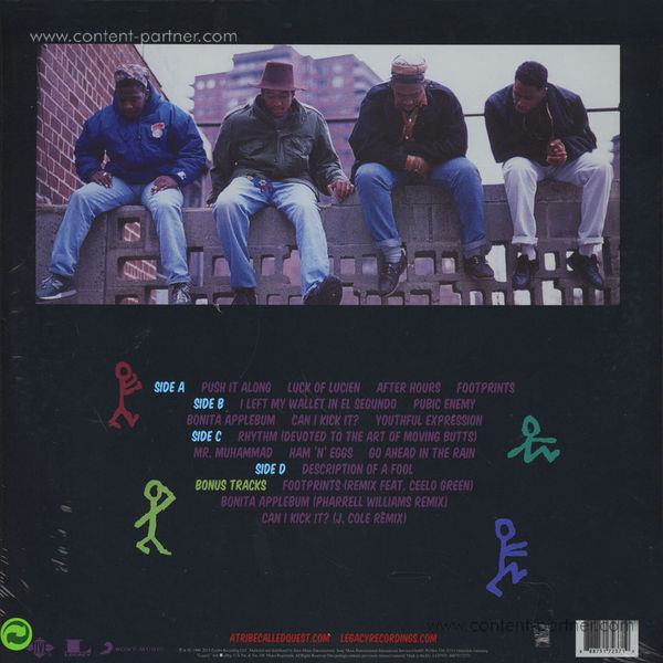 A Tribe Called Quest - People's Instinctive Travels...(25th Ann. Edition) (Back)
