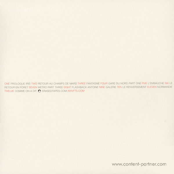A Winged Victory For The Sullen / OST - Iris (LP+DL) (Back)