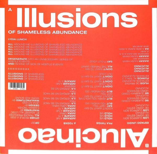 A.A.L (Against All Logic) - Illusions Of Shameless Abundance/ Alucinao (Back)