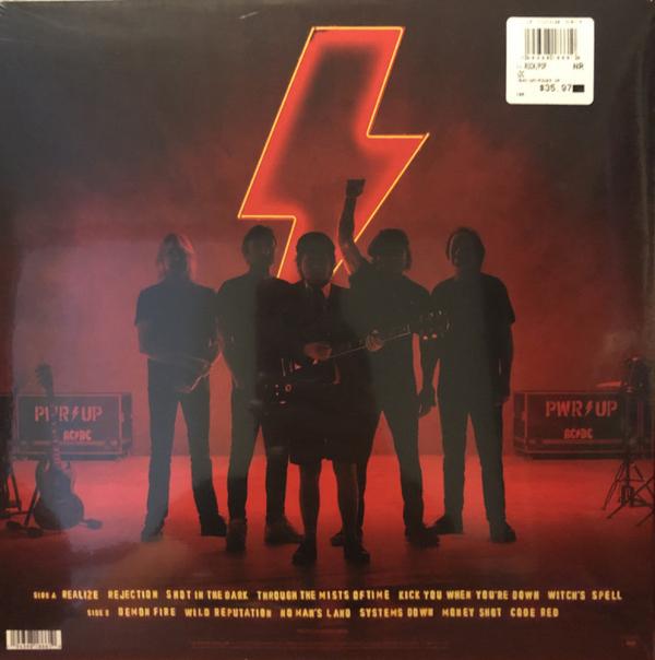 AC/DC - Power Up (Ltd. Opaque Red Vinyl LP, Gatefold) (Back)