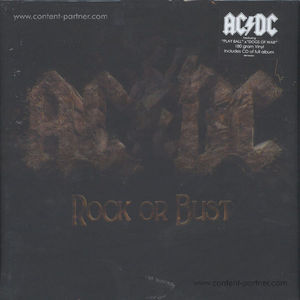 AC/DC - Rock or Bust (180g LP + CD)