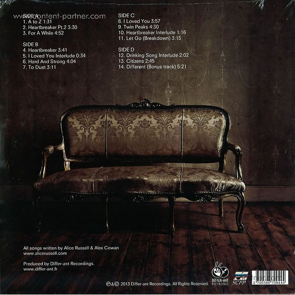 ALICE RUSSELL - TO DUST (Back)