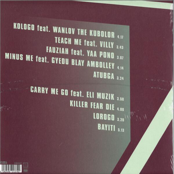 ALOSTMEN - Kologo (LP) (Back)