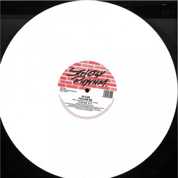ALY-US - FOLLOW ME (WHITE VINYL) (Back)