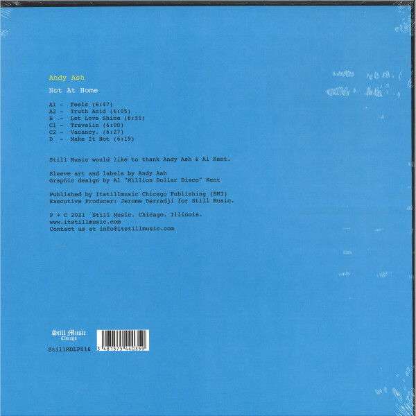 ANDY ASH - NOT AT HOME (Back)