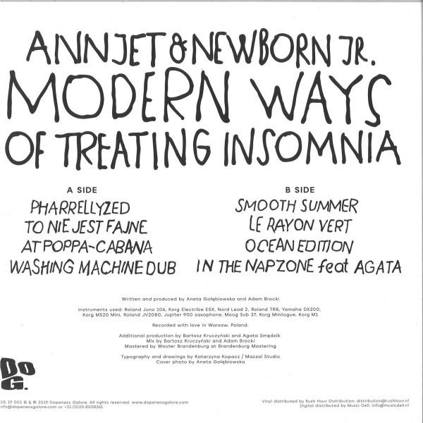 ANNJET & NEWBORN JR - MODERN WAYS OF TREATING INSOMNIA (Back)