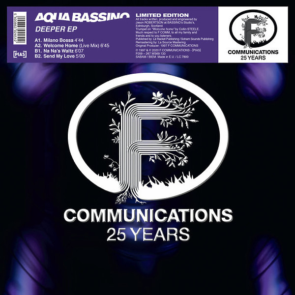 AQUA BASSINO - DEEPER EP (Back)