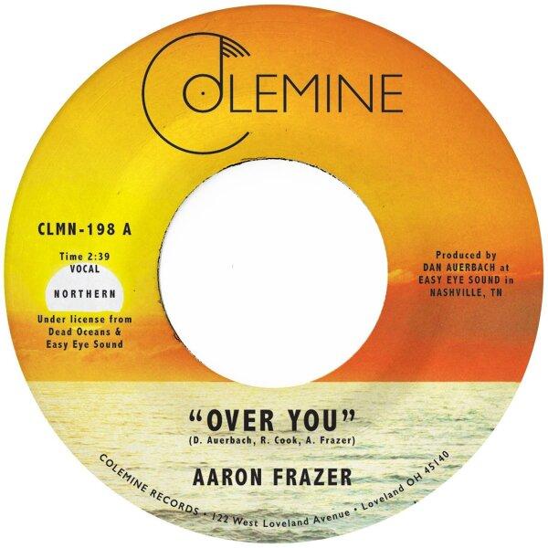 "Aaron Frazer - Over You (Translucent Orange 7"" Single Vinyl)"