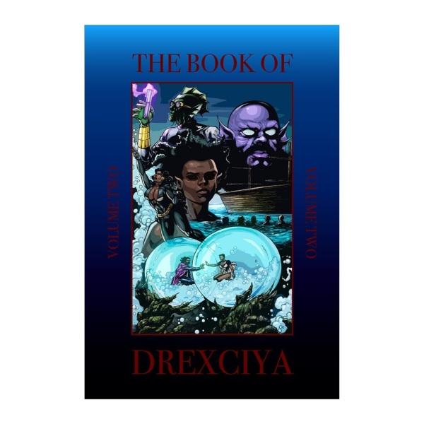 Abdul Qadim Haqq - The Book of Drexciya, Volume Two (Hardback)
