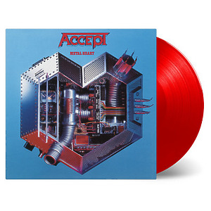 Accept - Metal Heart (Ltd. transp. red vinyl)