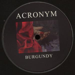 Acronym - Burgundy (Back)