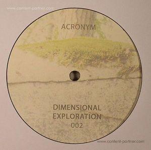 Acronym - Dimensional Exploration 002