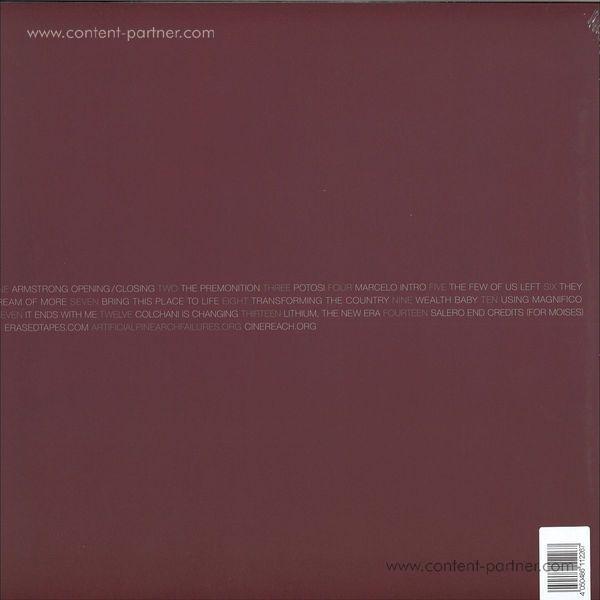 Adam Bryanbaum Wiltzie - Salero (O.S.T.) (LP + DL) (Back)