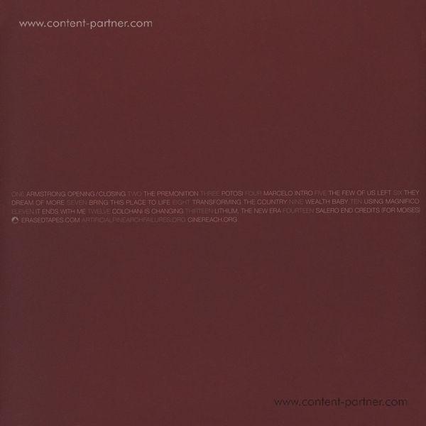 Adam Bryanbaum Wiltzie - Salero (O.S.T.) (Ltd. clear vinyl + DL) (Back)