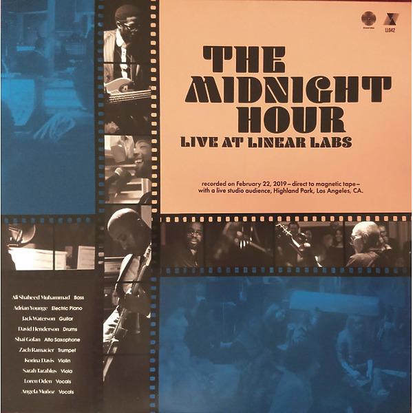Adrian Young & Ali Shaheed Muhammad - The Midnight Hour Live at Linear Labs (LP)