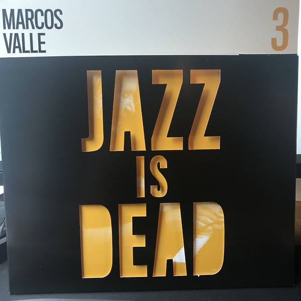 Adrian Younge, Ali Shaheed Muhammad & Marco Valle - Jazz Is Dead 03 - Marcos Valle (LP) (Back)