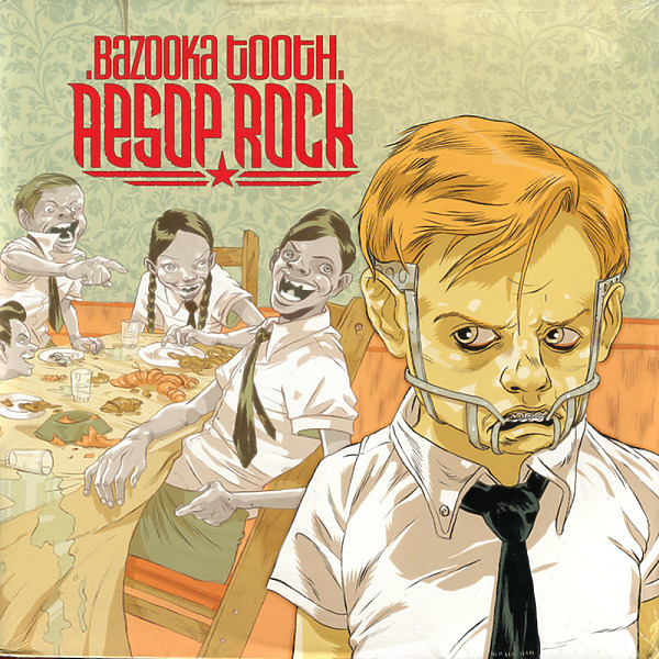 Aesop Rock - Bazooka Tooth (3LP reissue)