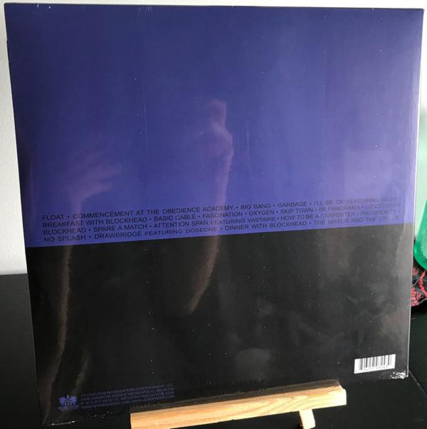 Aesop Rock - Float (Ltd. Blue Vinyl 2LP) (Back)